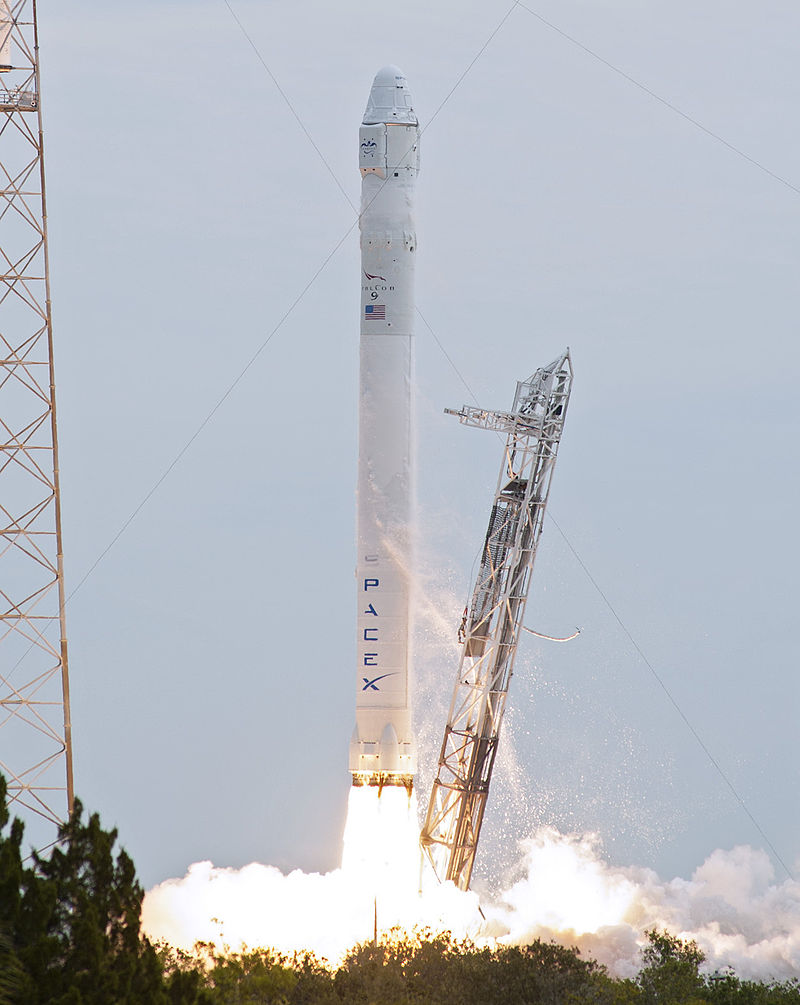 SpaceX Falcon-9 Launch Rocket