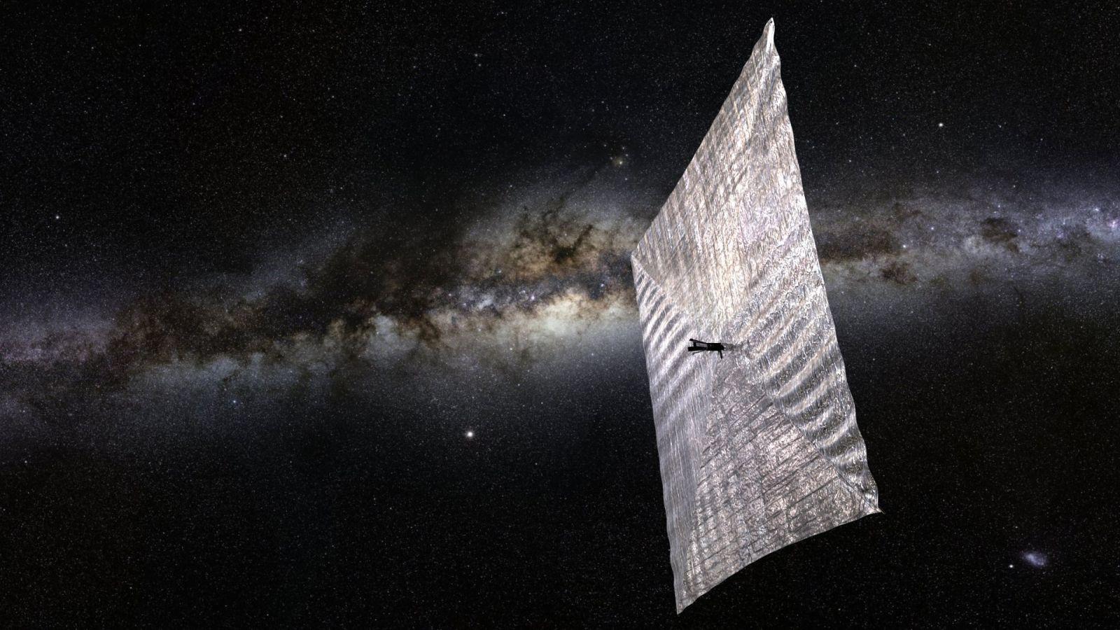 Image: LightSail 1, Planetary Society
