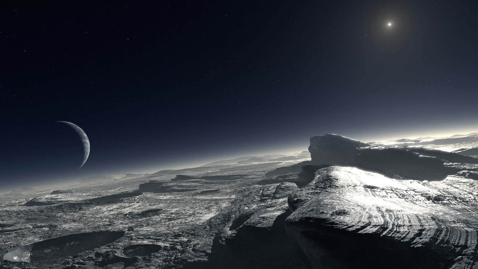 Pluto flyby success