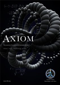 Axiom volume 1 issue 1 cover