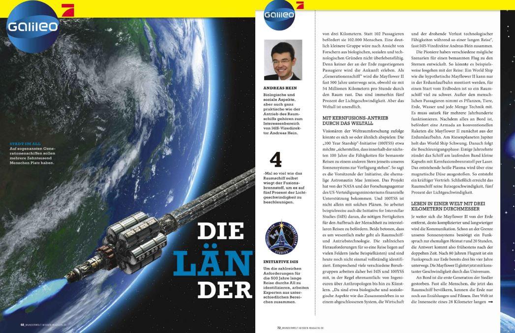 Wunderwelt-Wissen-Magazine, 2016