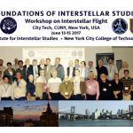 Foundations of Interstellar Studies: Tuesday 13 June 2017